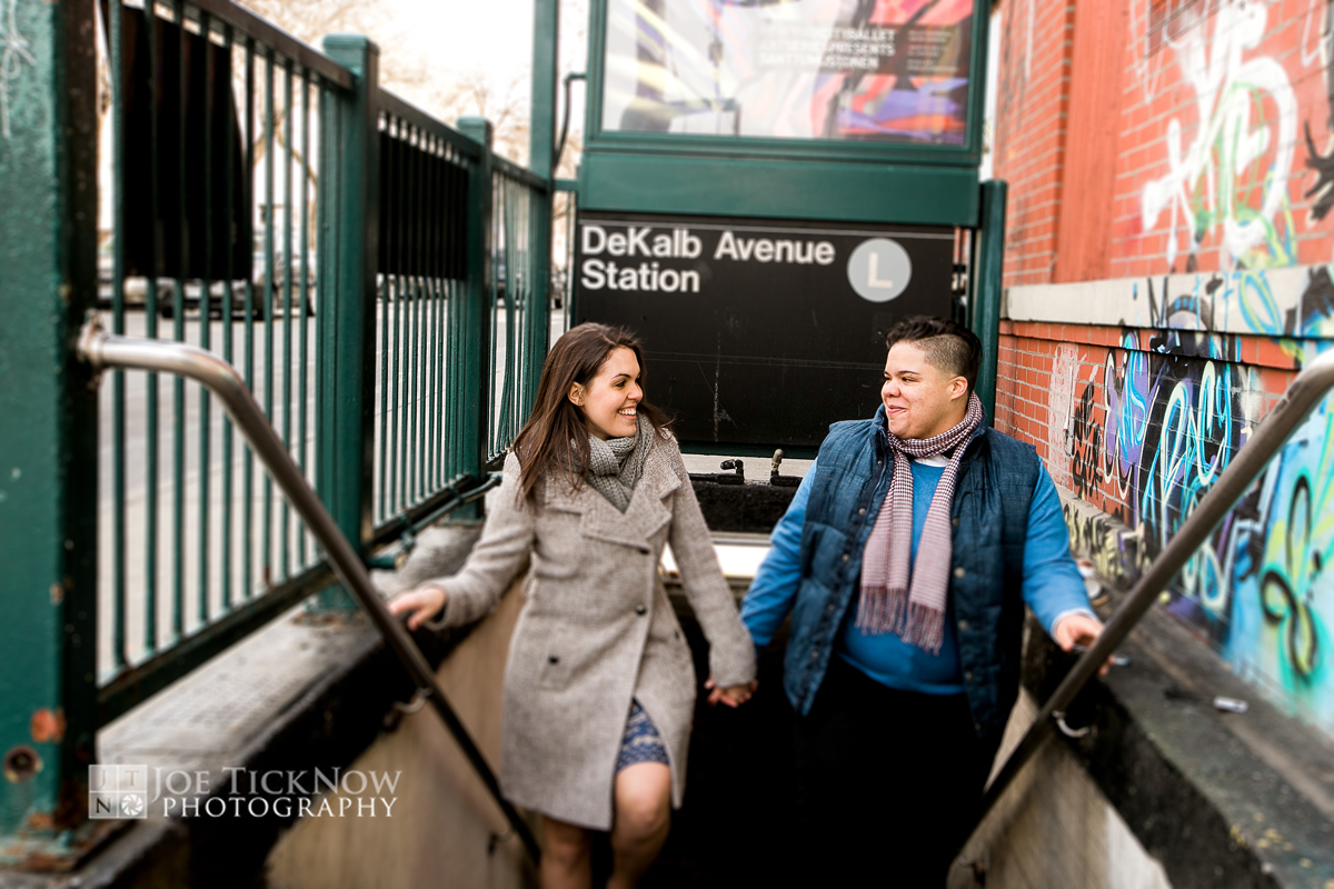 BUSHWICK BROOKLYN NY ENGAGEMENT PHOTOS-1