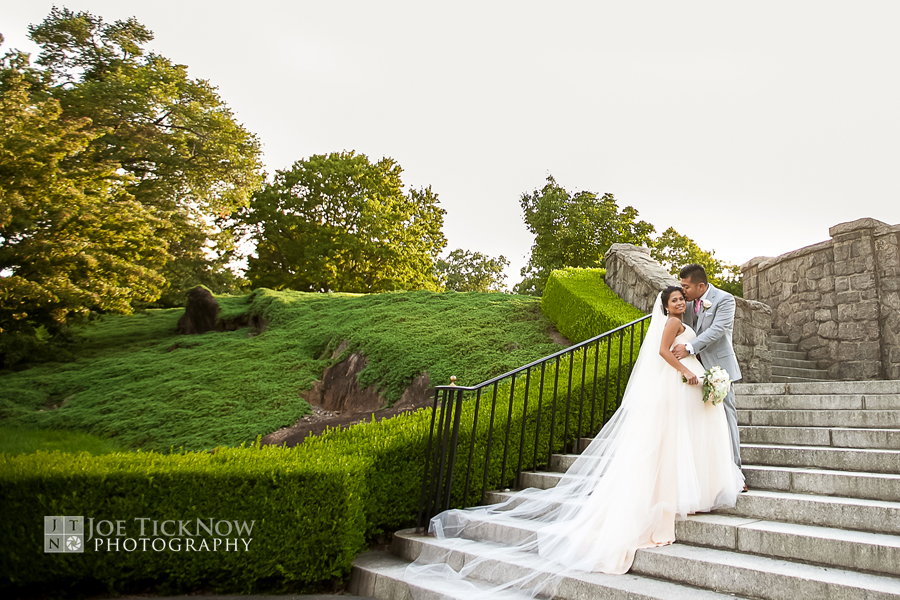 New York Botanical Garden Wedding Photo A16x
